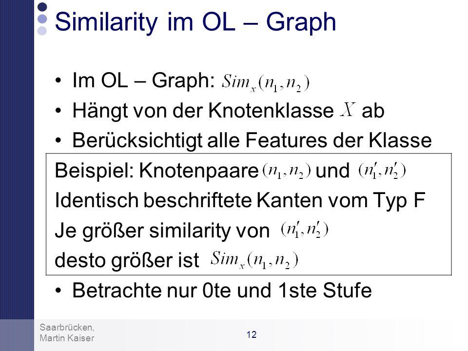 Similarity im OL – Graph