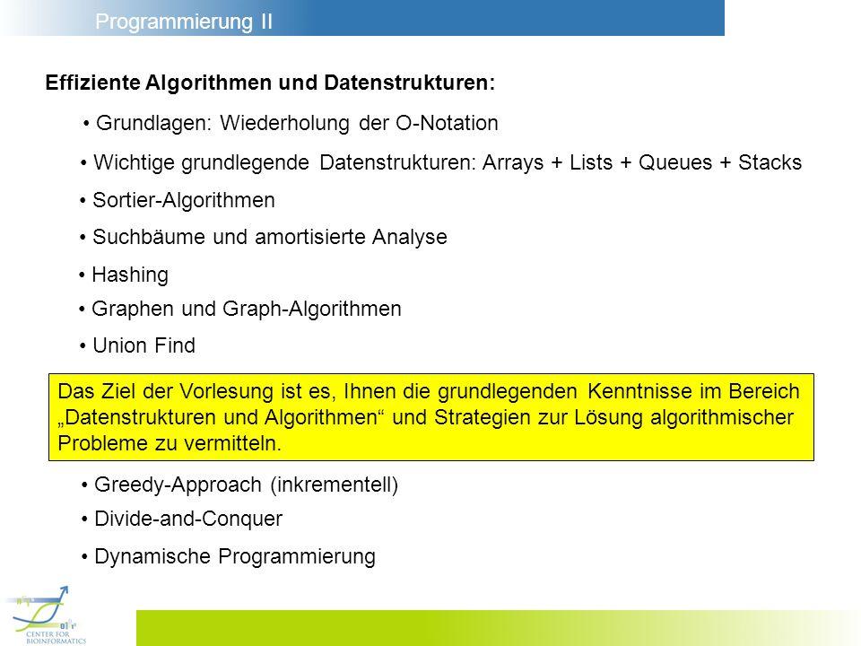 Effiziente Algorithmen und Datenstrukturen: