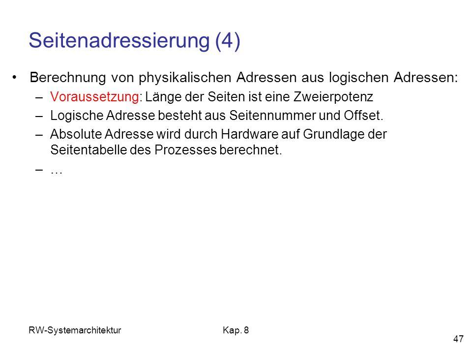 Seitenadressierung (4)
