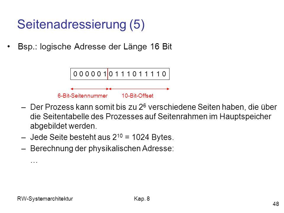Seitenadressierung (5)
