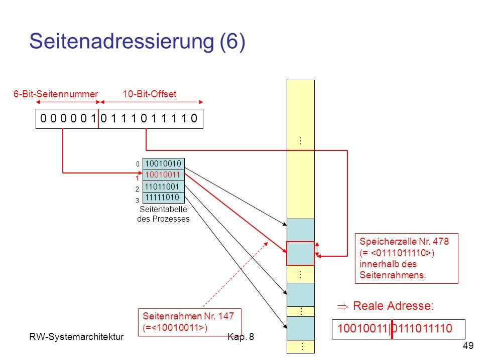 Seitenadressierung (6)