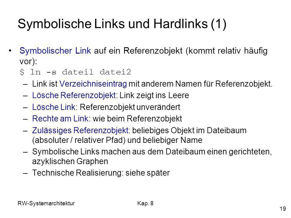 Symbolische Links und Hardlinks (1)
