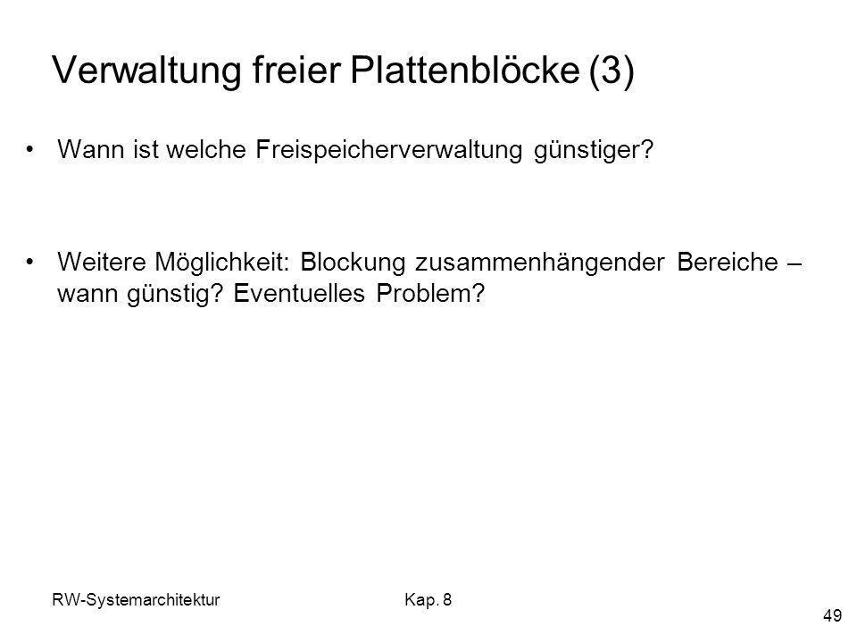 Verwaltung freier Plattenblöcke (3)