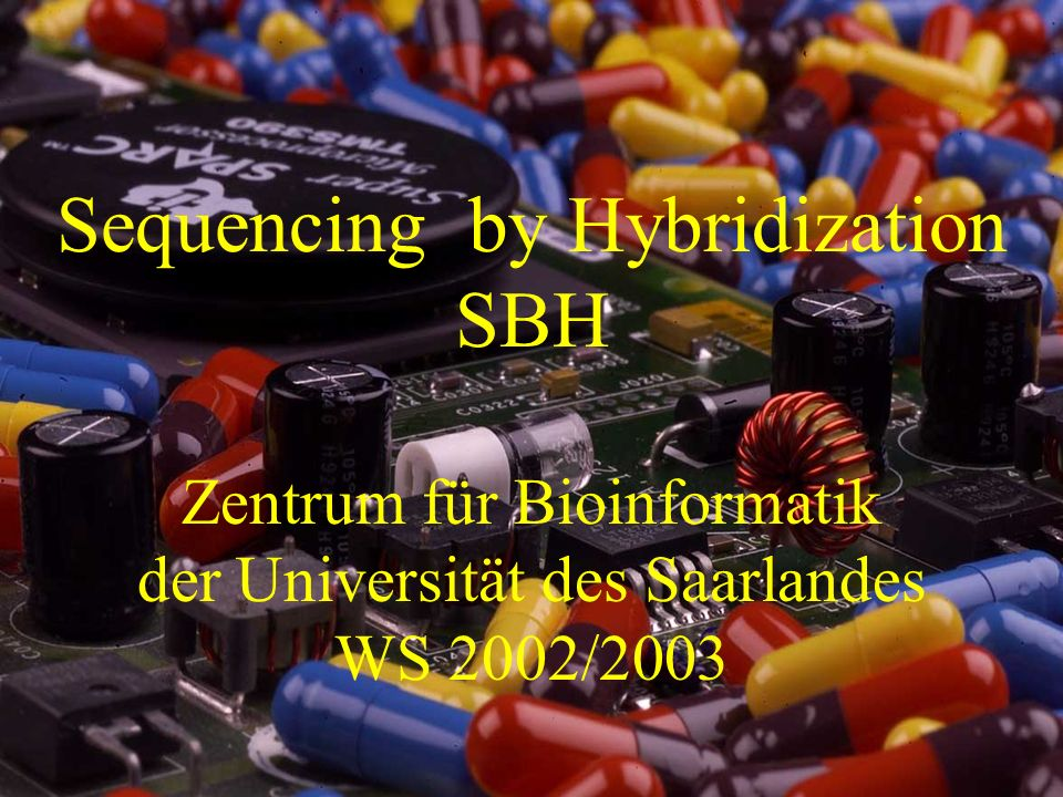 Sequencing by Hybridization SBH