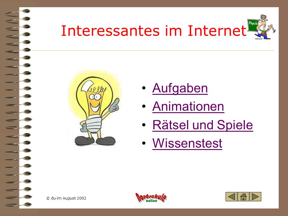 Interessantes im Internet