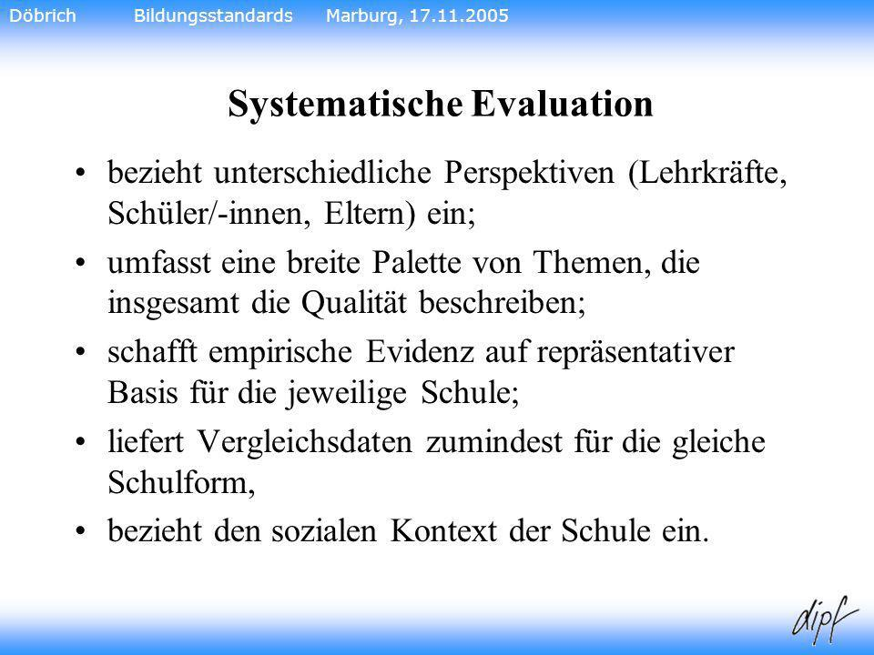Systematische Evaluation