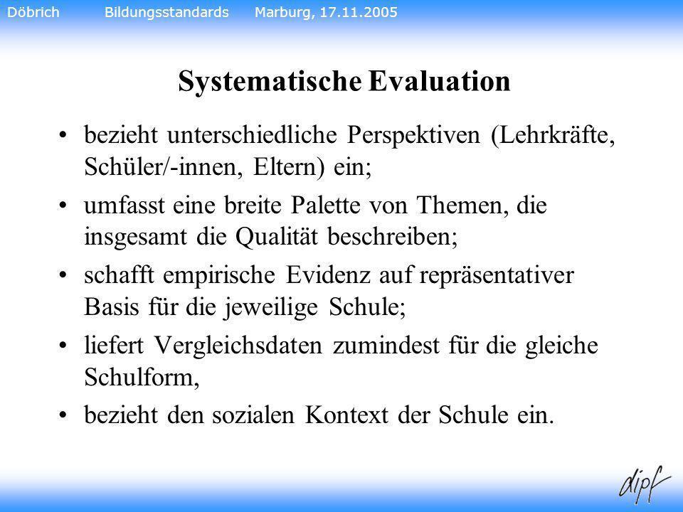 Systematische Evaluation