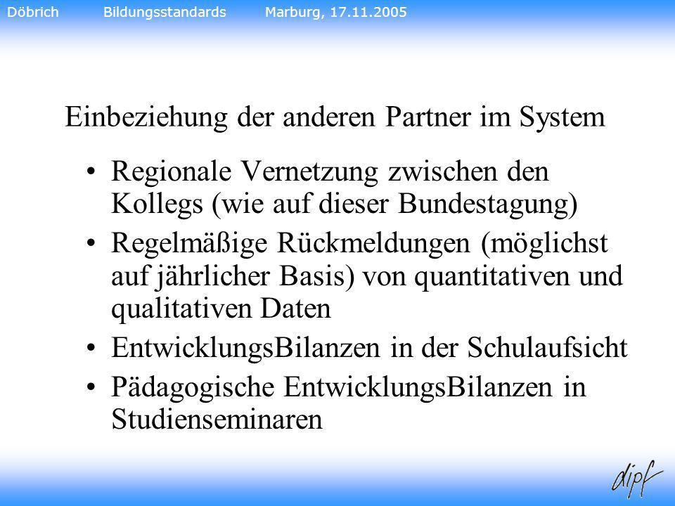 Einbeziehung der anderen Partner im System
