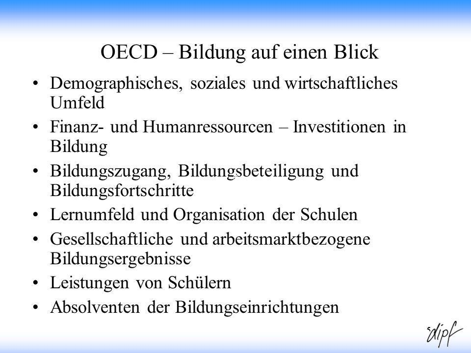 OECD – Bildung auf einen Blick
