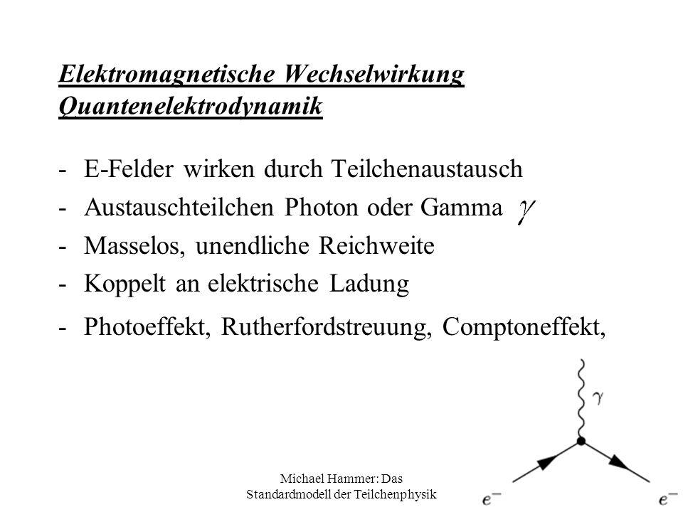 Elektromagnetische Wechselwirkung Quantenelektrodynamik