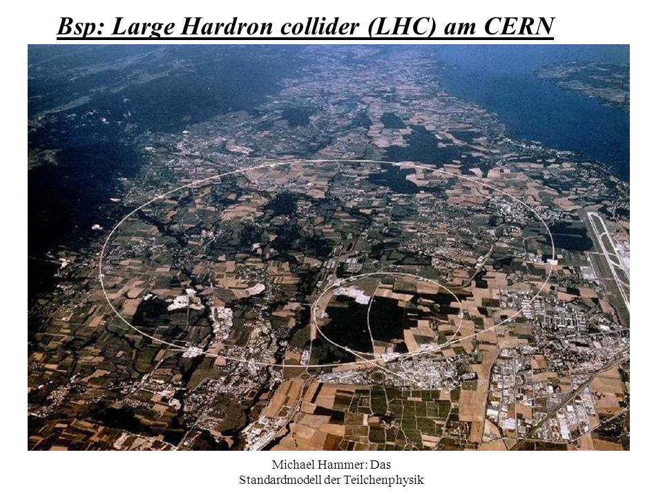 Bsp: Large Hardron collider (LHC) am CERN