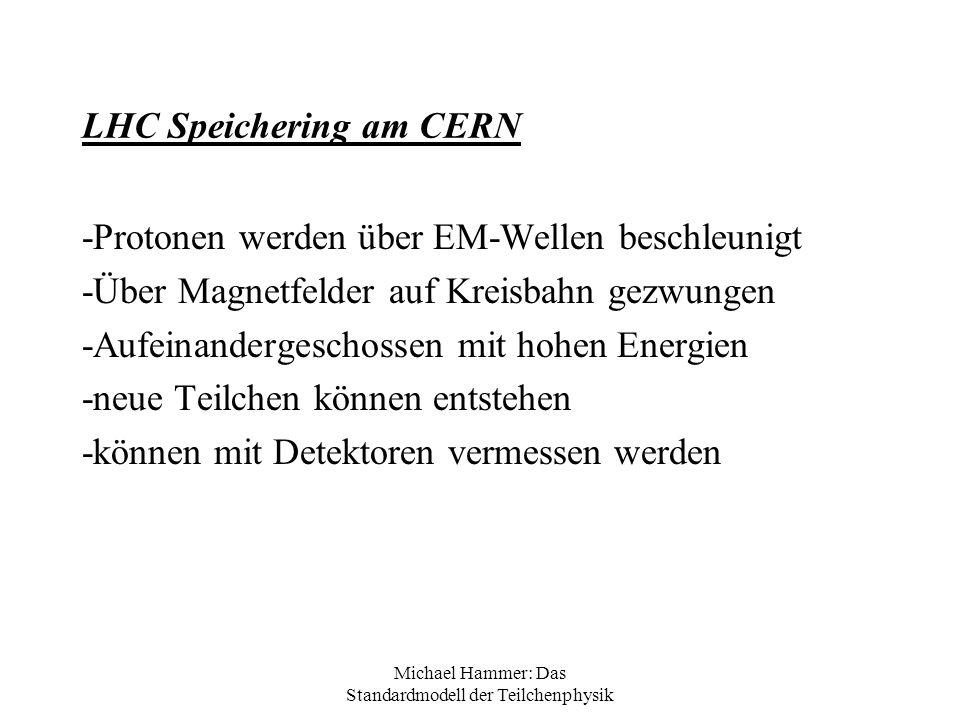 LHC Speichering am CERN