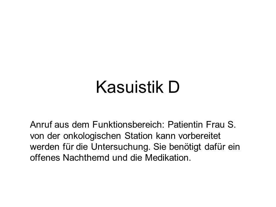 Kasuistik D