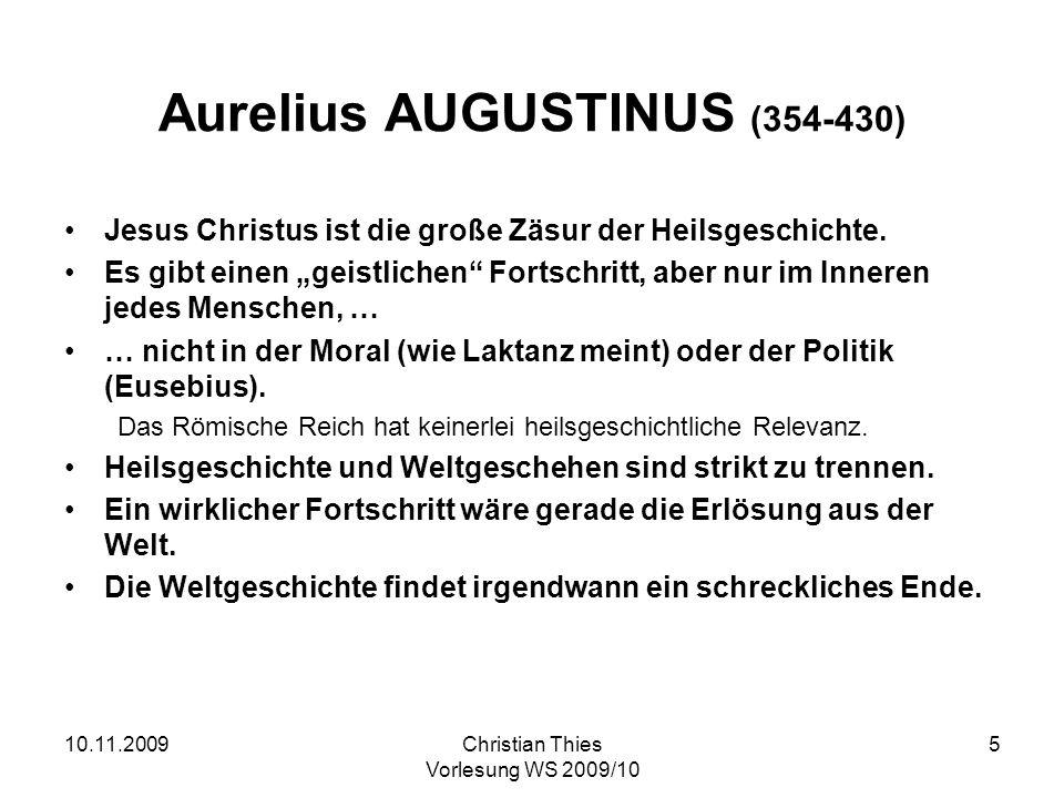 Aurelius AUGUSTINUS (354-430)