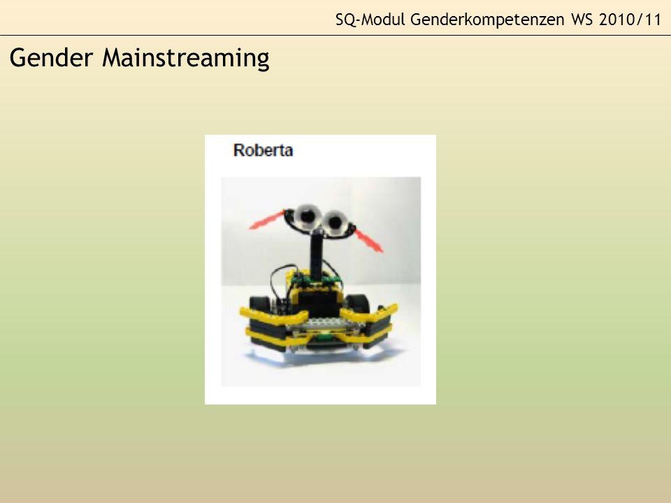 SQ-Modul Genderkompetenzen WS 2010/11