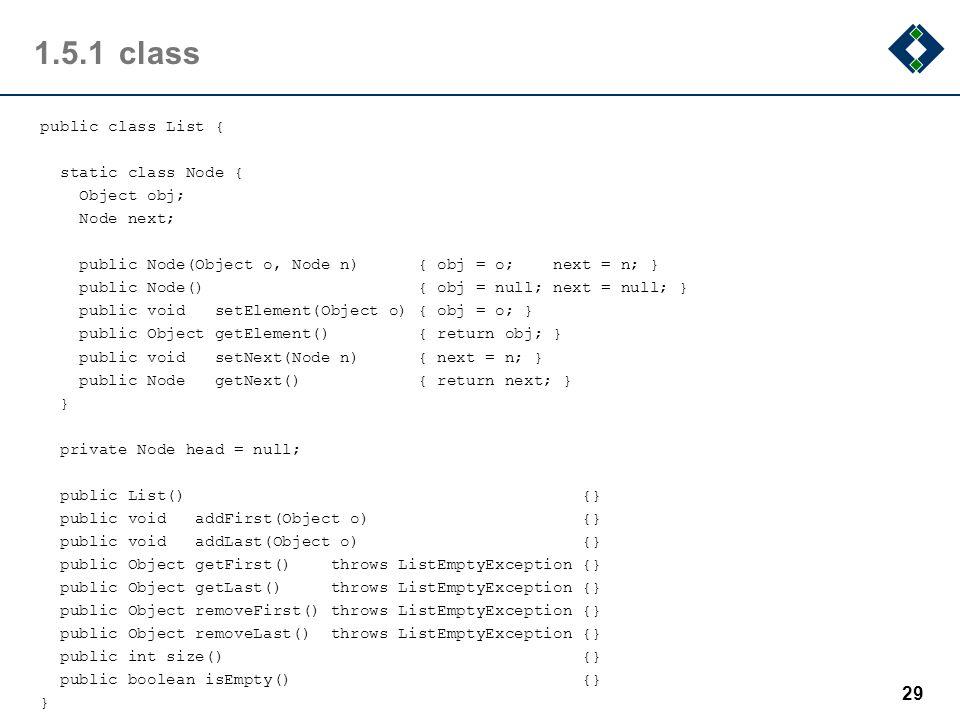 1.5.1 class