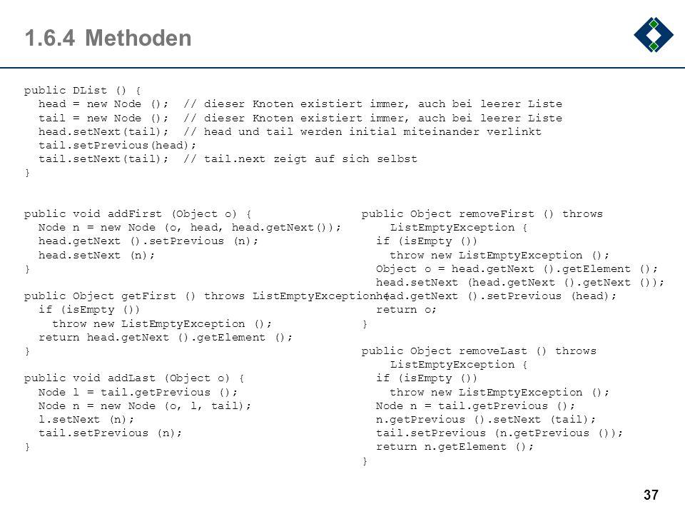 1.6.4 Methoden