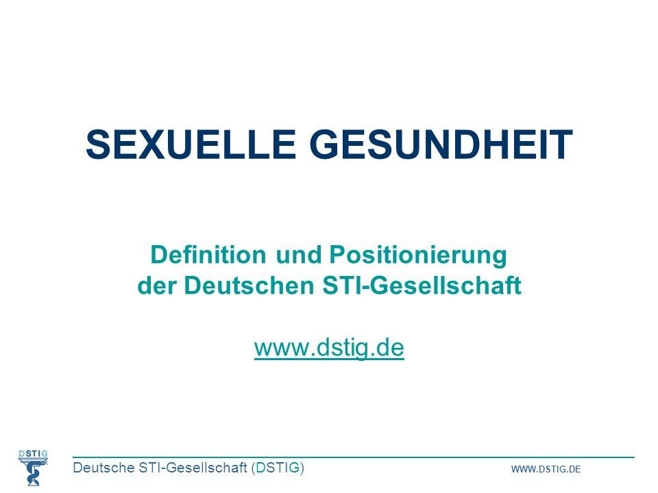 Definition und Positionierung der Deutschen STI-Gesellschaft