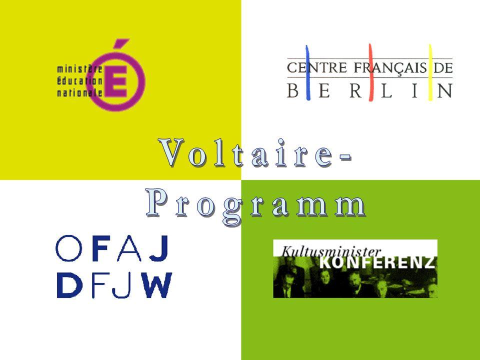 Voltaire- Programm Voltaire- Programm