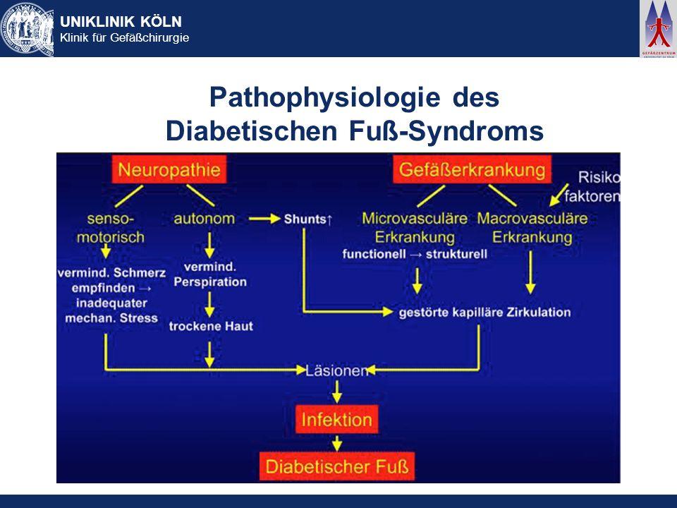 Pathophysiologie des Diabetischen Fuß-Syndroms