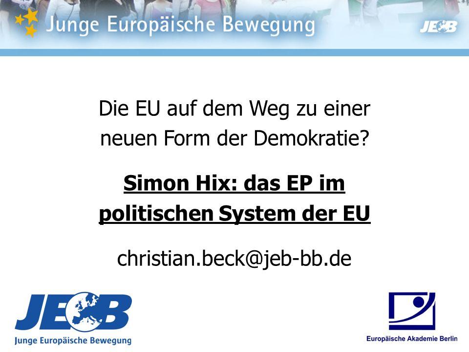politischen System der EU