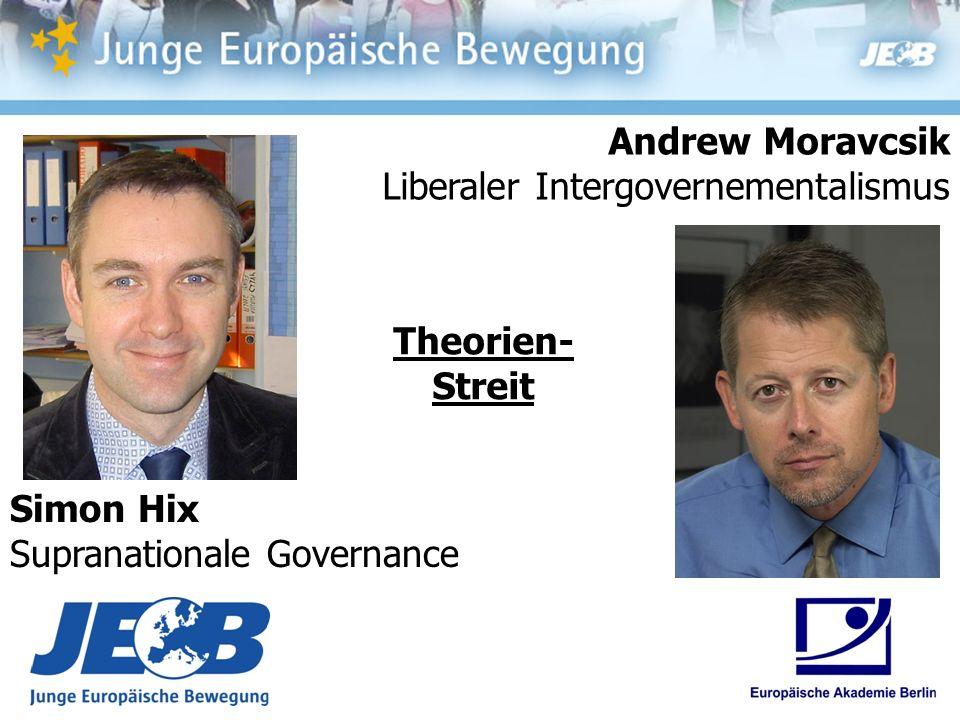 Andrew Moravcsik Liberaler Intergovernementalismus.