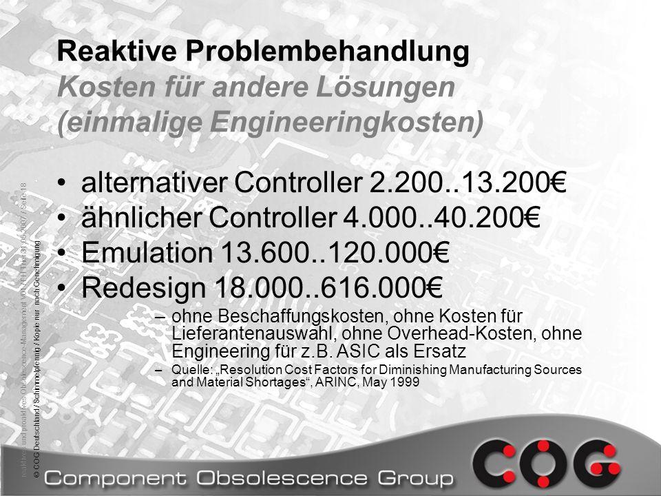 alternativer Controller 2.200..13.200€