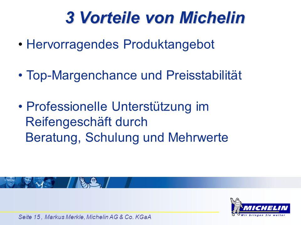 3 Vorteile von Michelin Hervorragendes Produktangebot