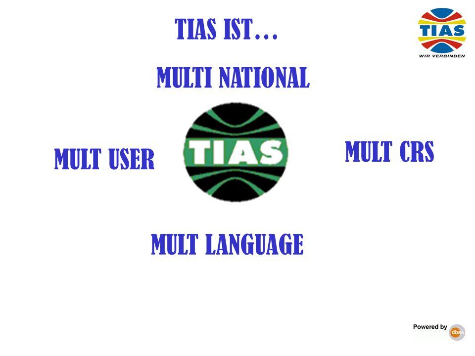 MULT CRS TIAS IST… MULTI NATIONAL MULT USER MULT LANGUAGE 31