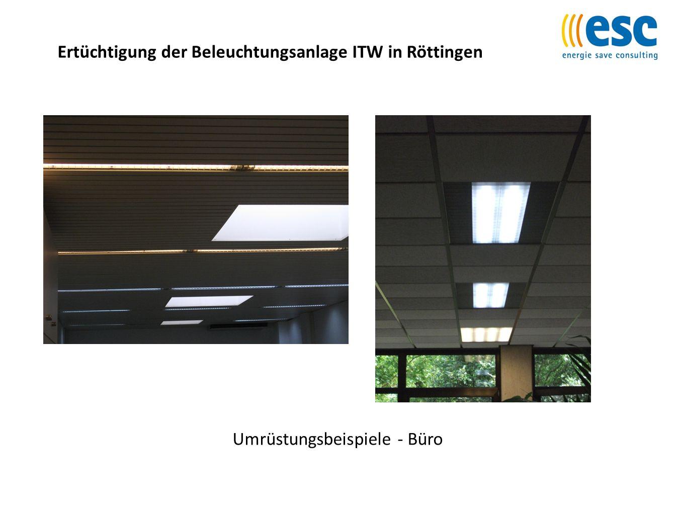 Ertüchtigung der Beleuchtungsanlage ITW in Röttingen