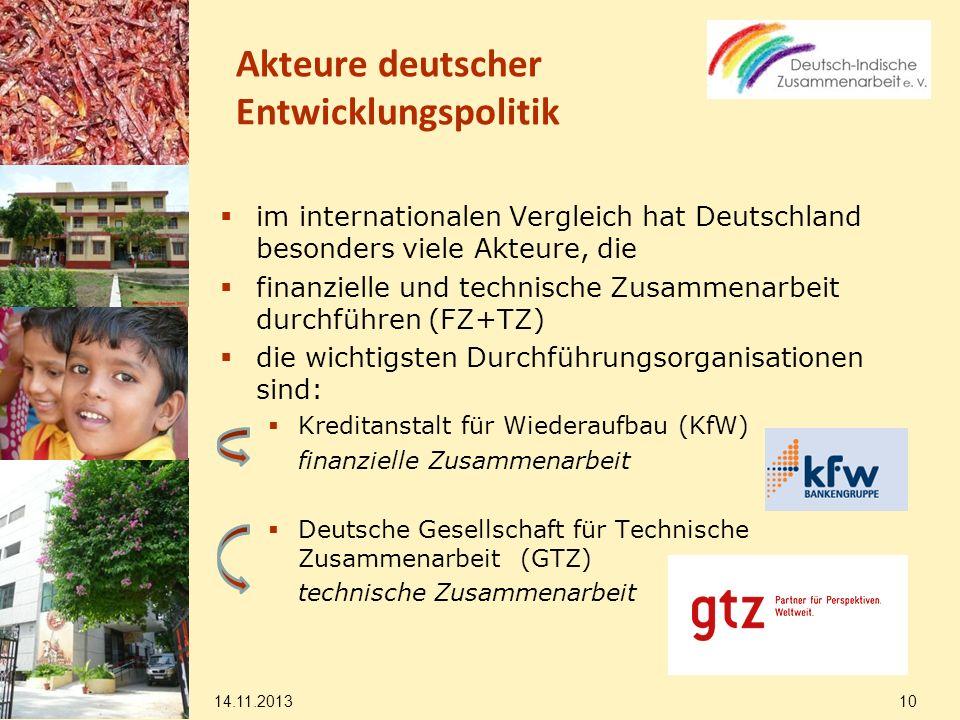 Akteure deutscher Entwicklungspolitik