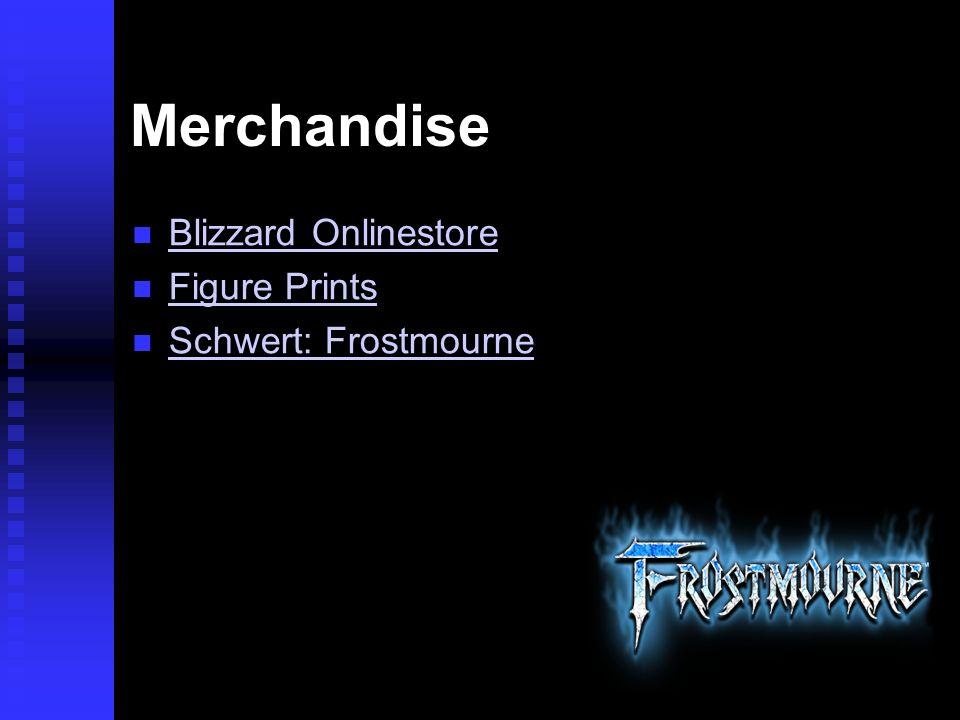 Merchandise Blizzard Onlinestore Figure Prints Schwert: Frostmourne