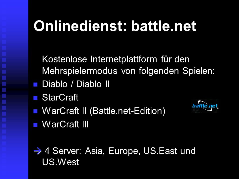 Onlinedienst: battle.net