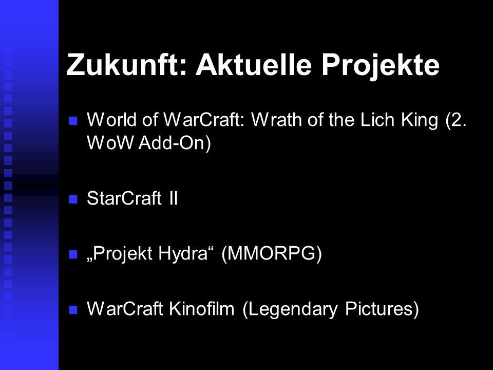 Zukunft: Aktuelle Projekte