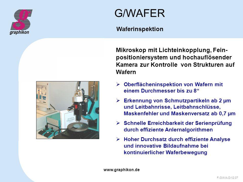 G/WAFER Waferinspektion