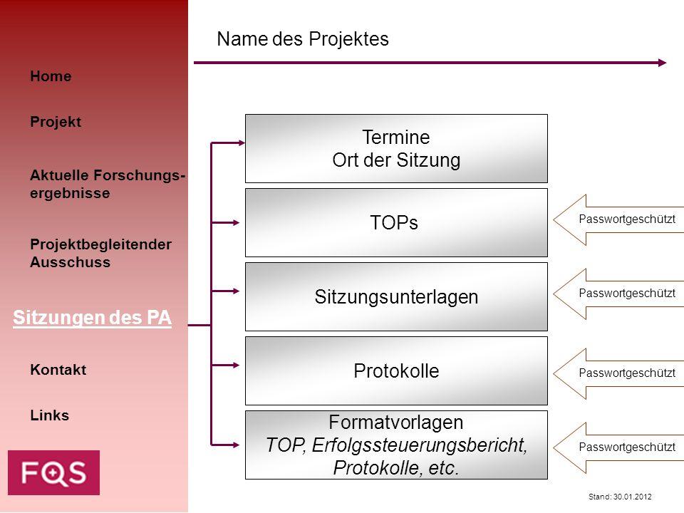 TOP, Erfolgssteuerungsbericht,