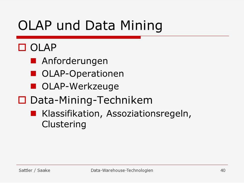 Data-Warehouse-Technologien