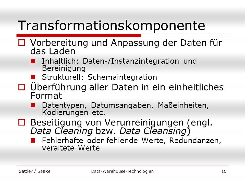 Transformationskomponente