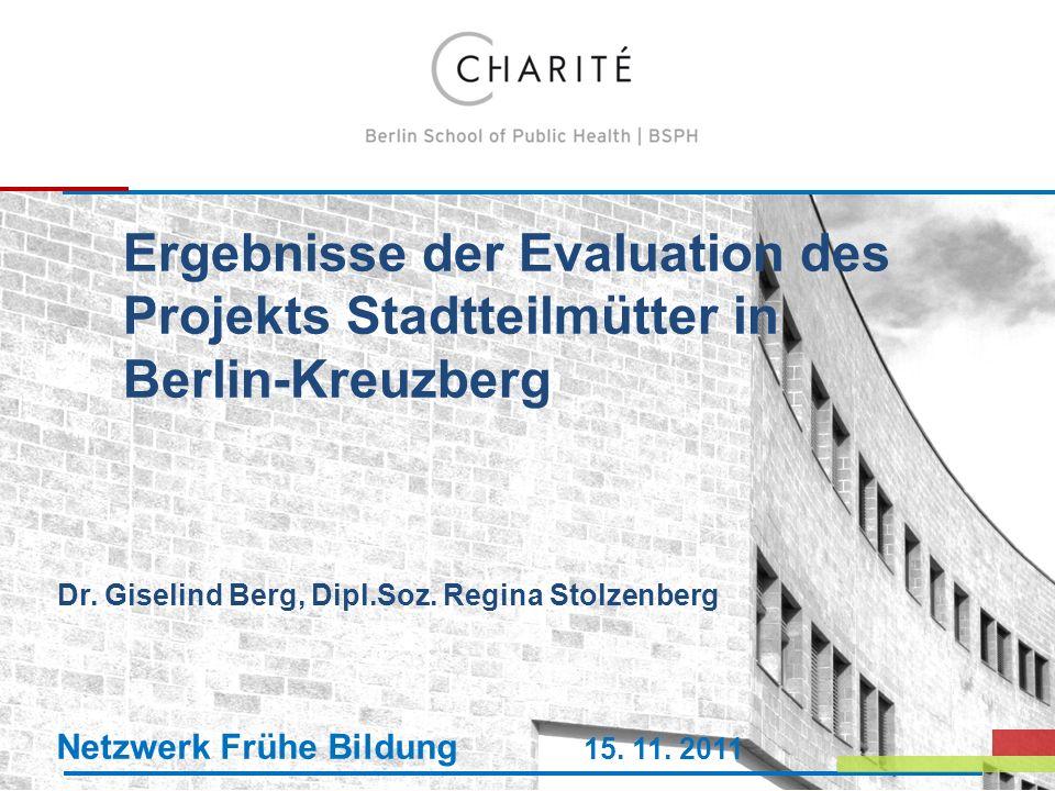 Dr. Giselind Berg, Dipl.Soz. Regina Stolzenberg