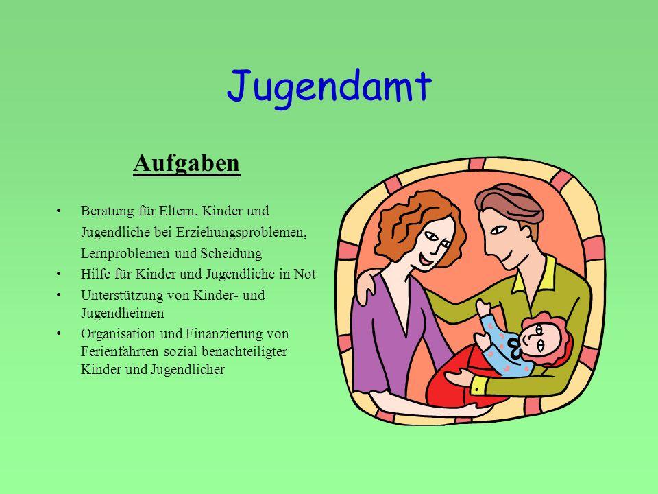 Jugendamt Aufgaben Beratung für Eltern, Kinder und