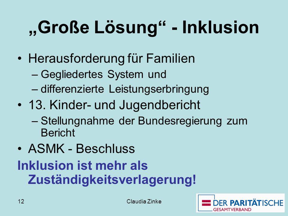 """""""Große Lösung - Inklusion"""