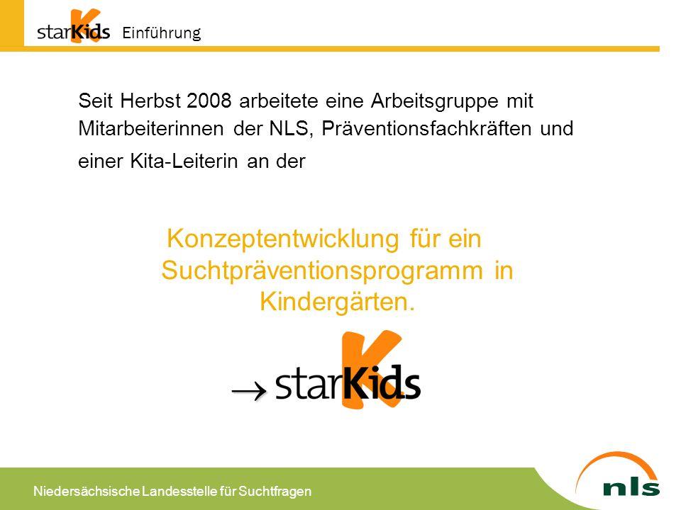 Konzeptentwicklung für ein Suchtpräventionsprogramm in Kindergärten.