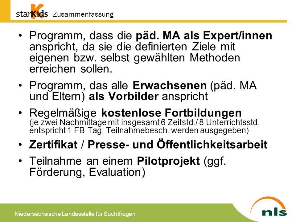 Zertifikat / Presse- und Öffentlichkeitsarbeit