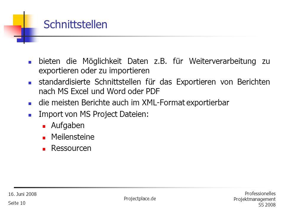 Schnittstellen bieten die Möglichkeit Daten z.B. für Weiterverarbeitung zu exportieren oder zu importieren.