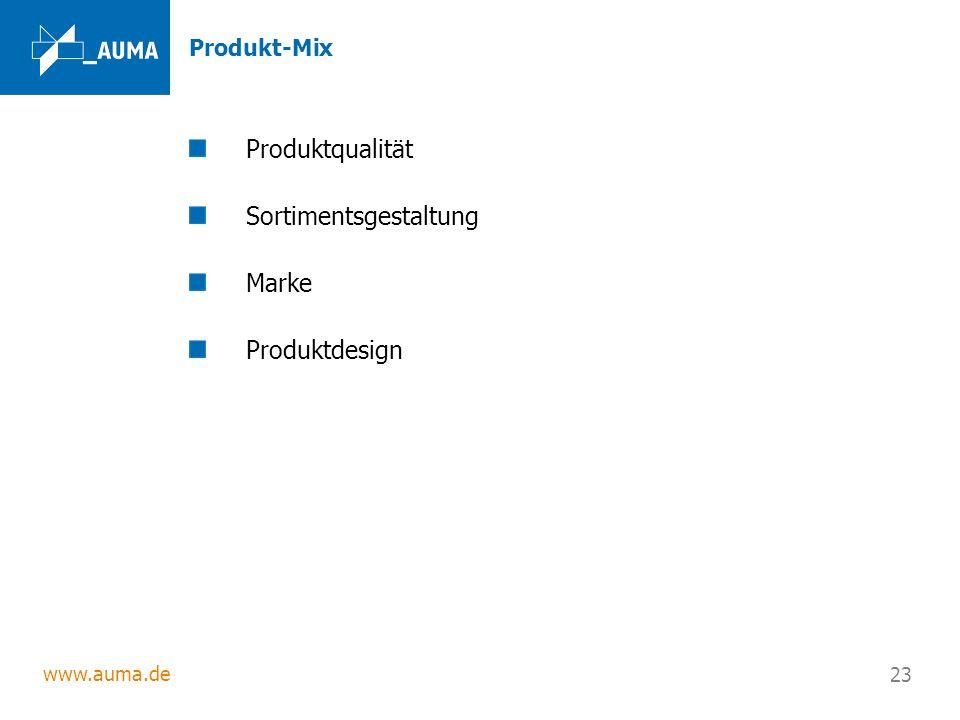 Sortimentsgestaltung Marke Produktdesign