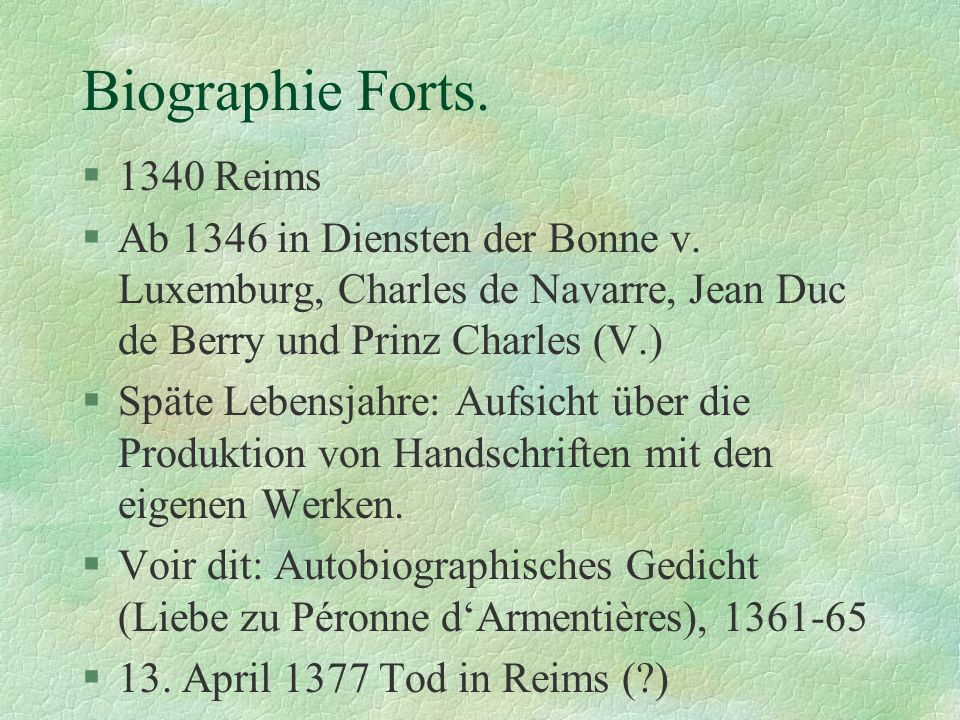 Biographie Forts. 1340 Reims