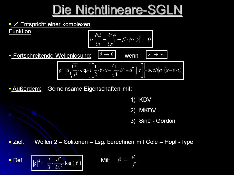 Die Nichtlineare-SGLN