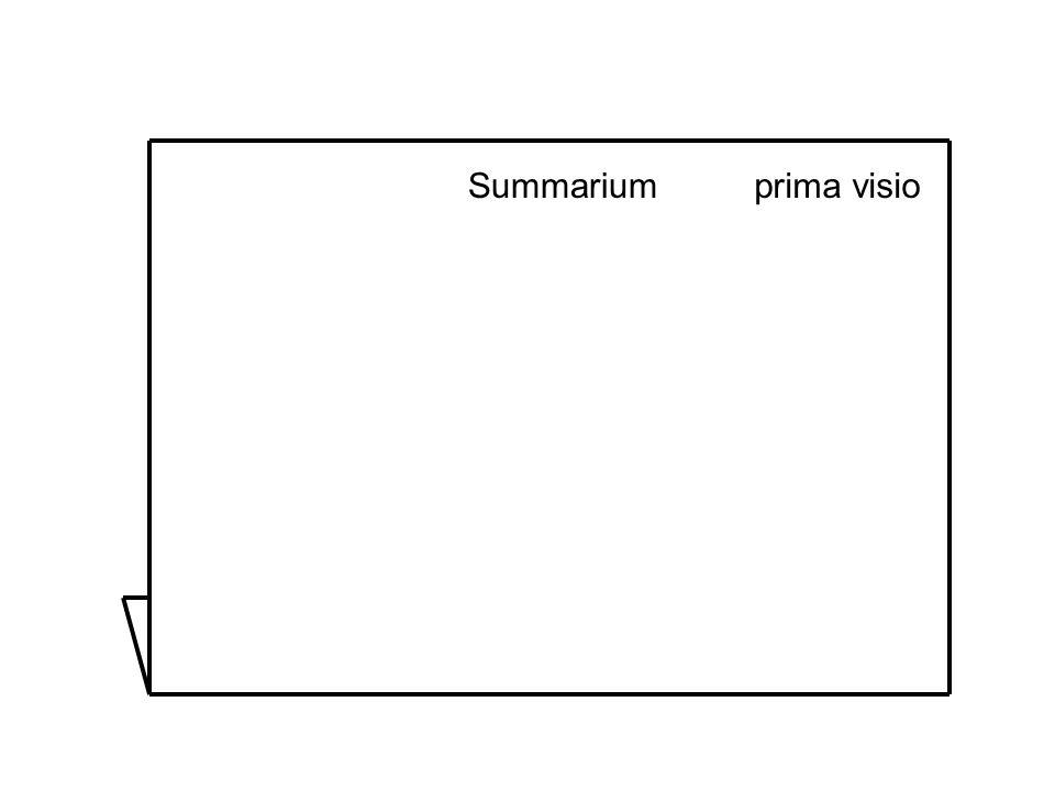 Summarium prima visio