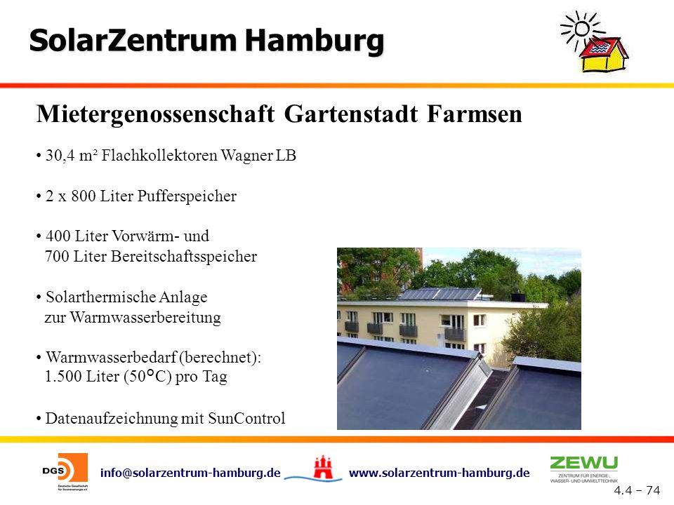 Mietergenossenschaft Gartenstadt Farmsen
