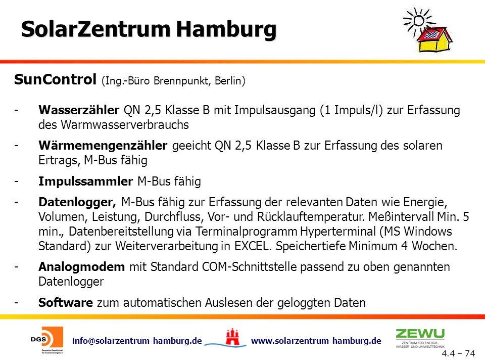 SunControl (Ing.-Büro Brennpunkt, Berlin)
